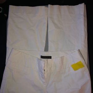 THE LIMITED Dress Pants Size 10 Womens White